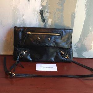 Balenciaga Envelope Clutch black New Crossbody